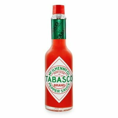 * Tabasco Red Pepper Hot Sauce 12 Ounces Bottle