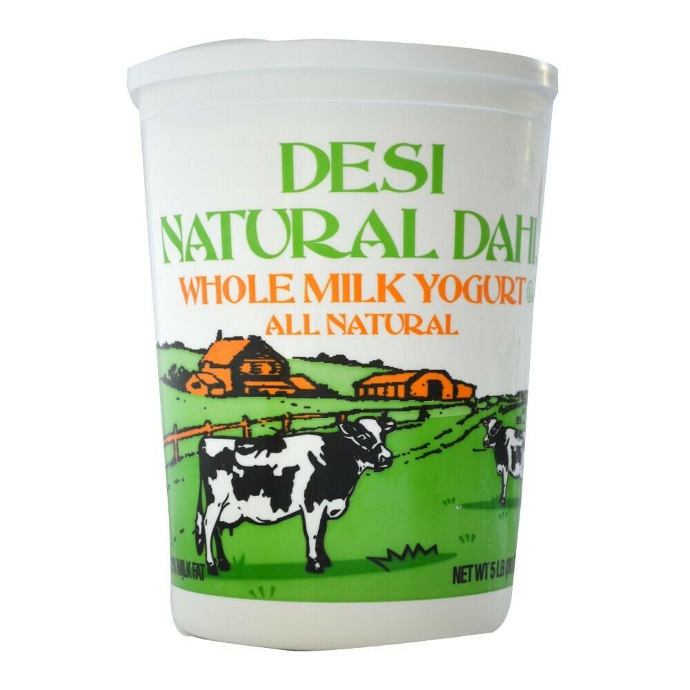 * Traditional All Natural Dahi Yogurt 5 Pounds