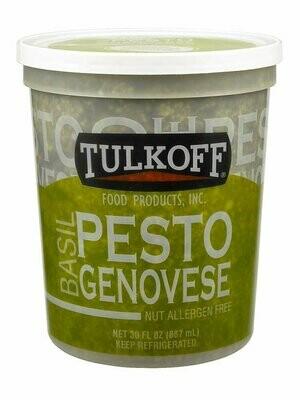 * Tulkoff Fresh Genovese Pesto Sauce Quart 32 Ounces