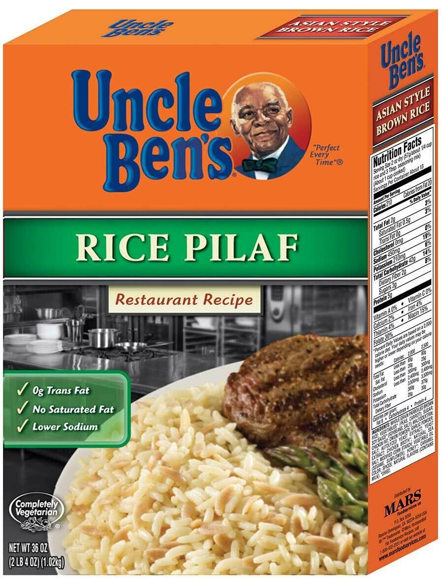 * Uncle Ben's Original Pilaf Rice 36 Ounces
