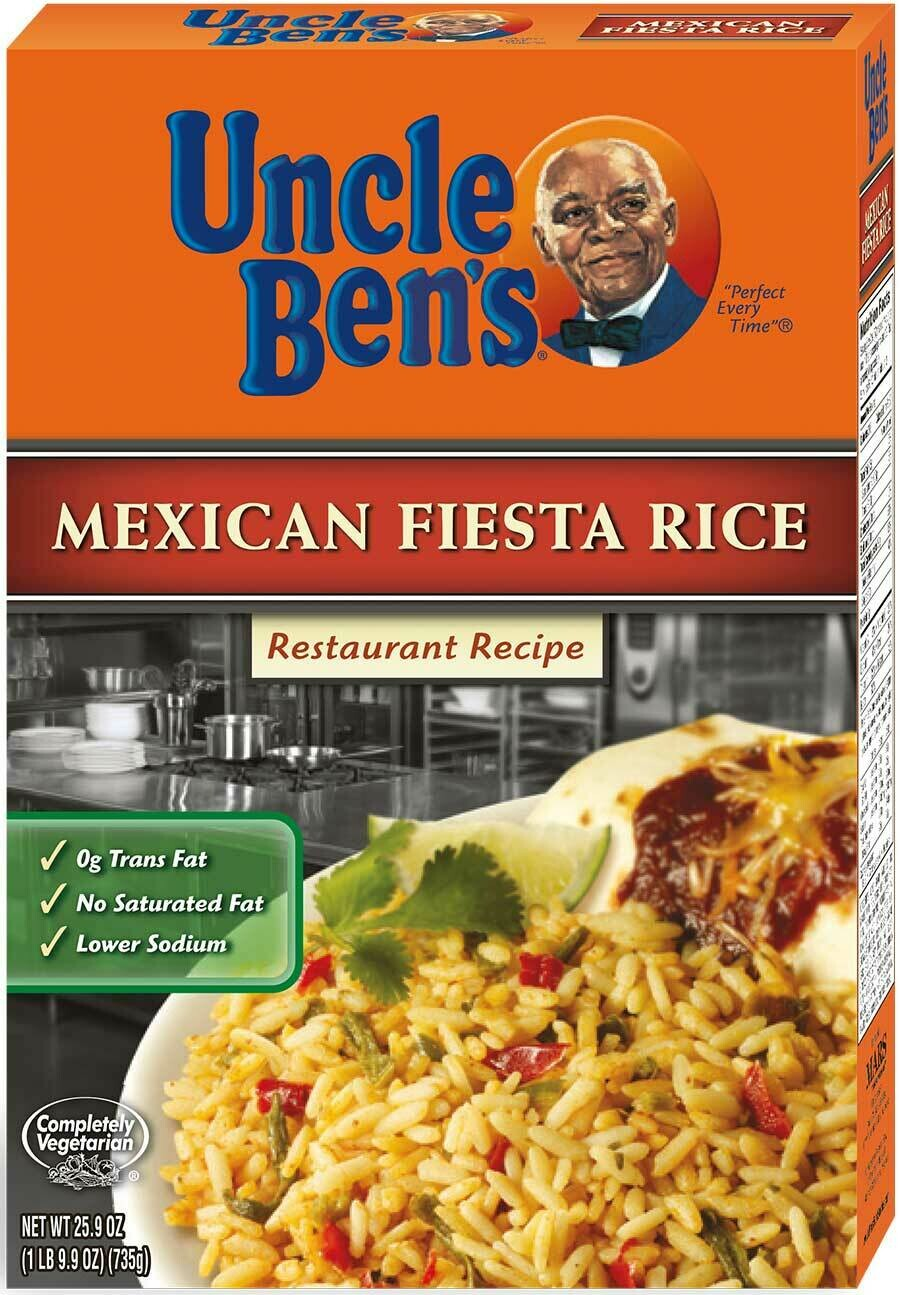 * Uncle Ben's Mexican Fiesta Rice 25.9 Ounces