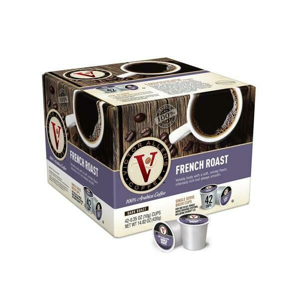 * Victor Allen Single Serve French Roast Coffee 42 Count