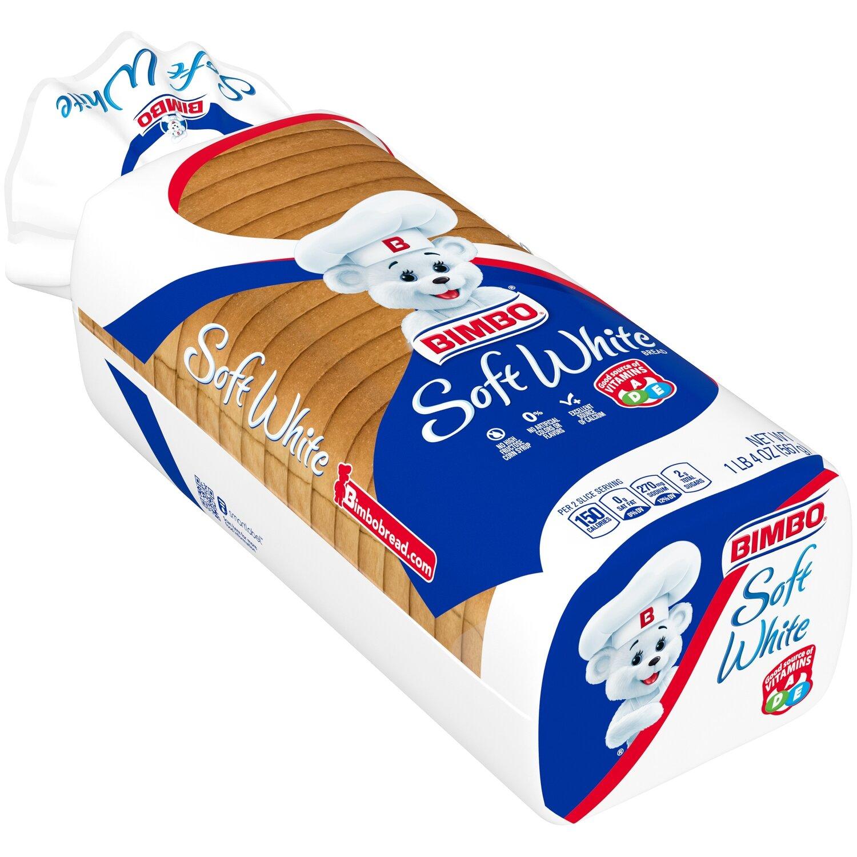 * Soft White Bread 20 Ounces
