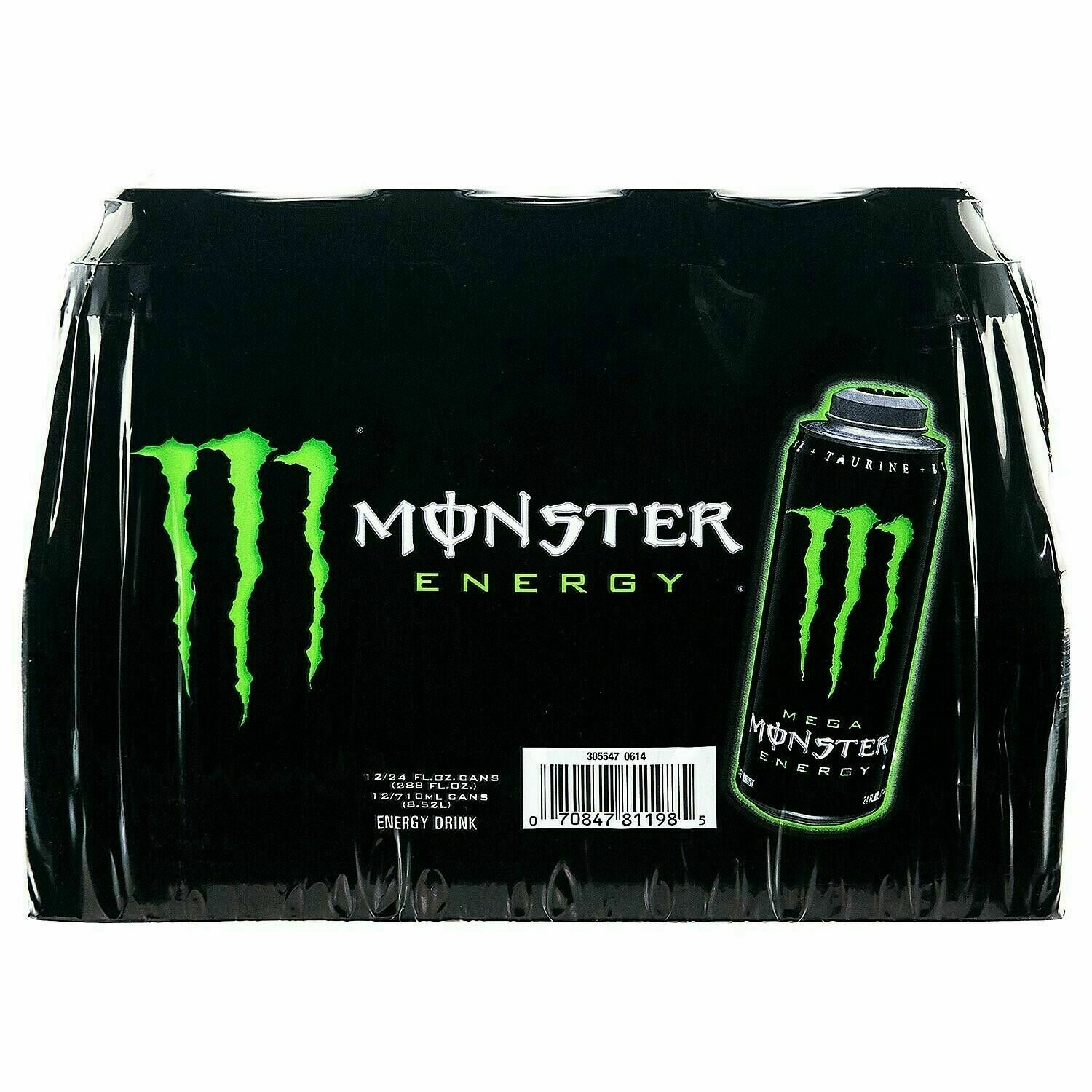 * Monster Energy Drink Mega 12-24 Ounces Cans