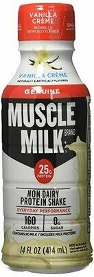* Muscle Milk Vanilla Cream 12-14 Ounces