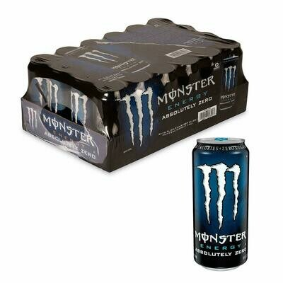 * Monster Energy Drink Absolutely Zero 24-16 Ounces Cans