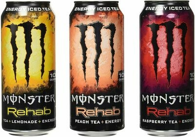 * Monster Rehab Variety Pack 24-15.5 Ounces