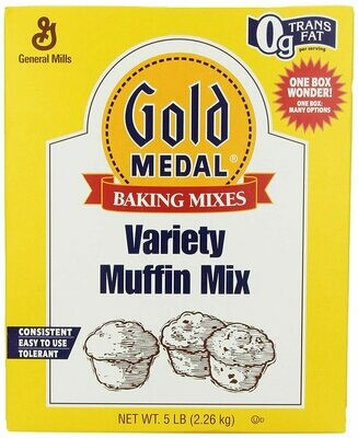 * Gold Medal Variety Muffin Mix 5 Pounds