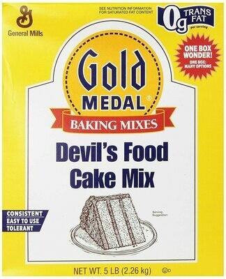 * Gold Medal Devil'S Food Cake Mix 5 Pounds