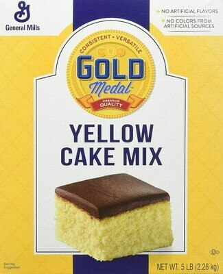 * Gold Medal Yellow Cake Mix 5 Pounds