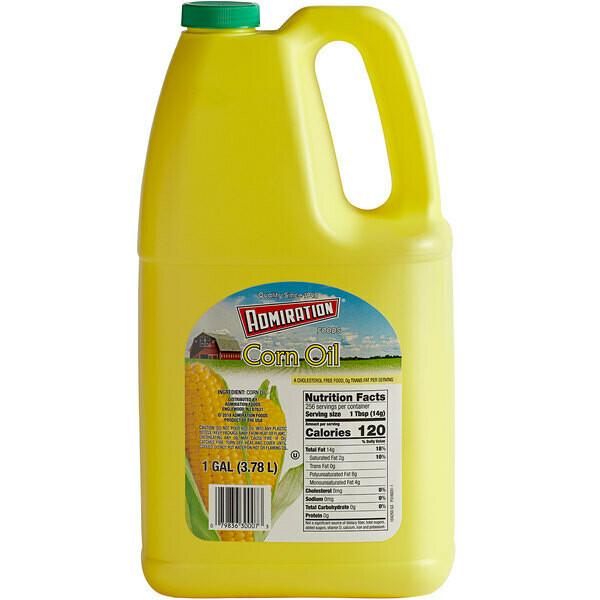 * Admiration Corn Oil 1 Gallon