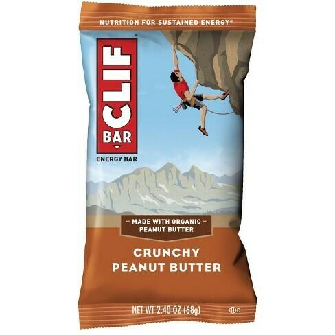 * Clif Bar Crunchy Peanut Butter Bars 12 Count