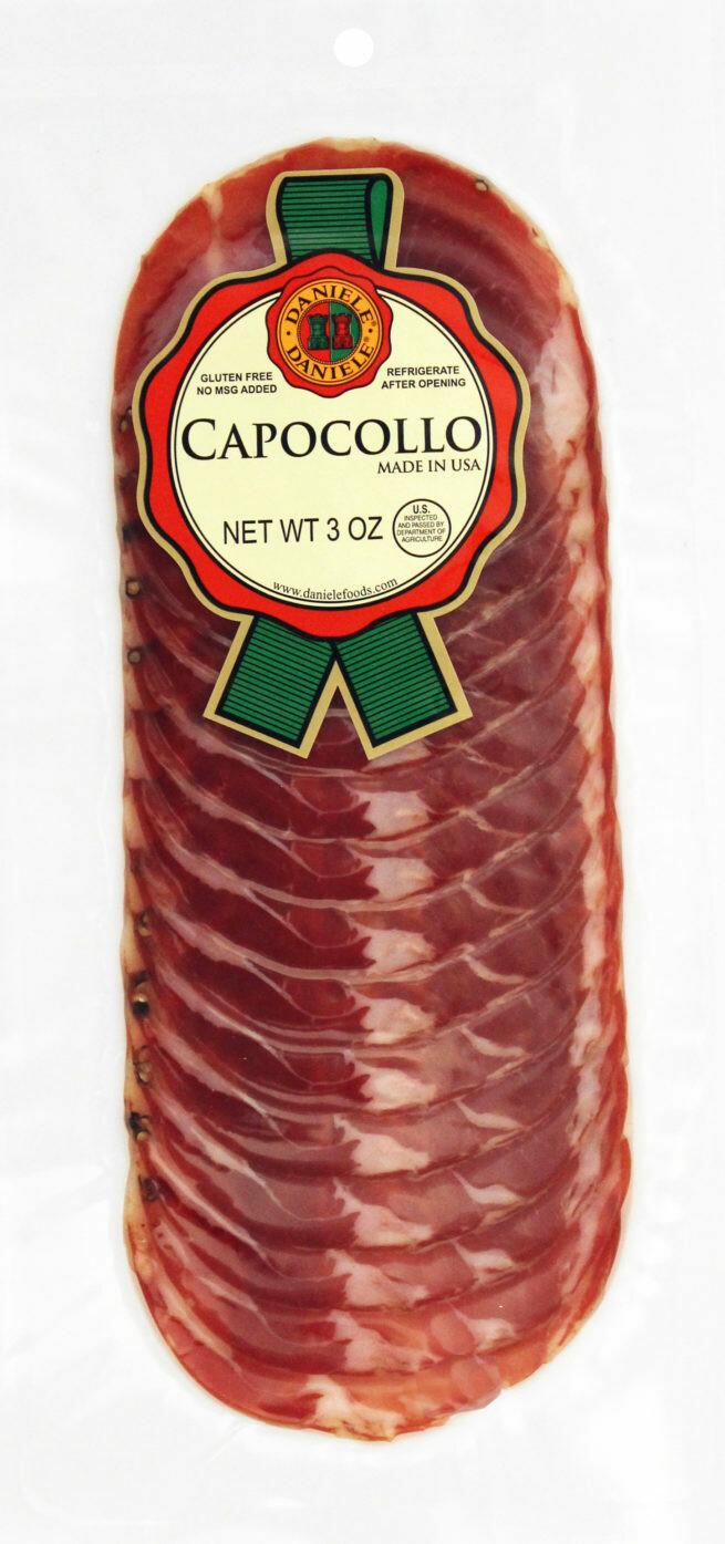 * Daniele Sweet Sliced Capicola Ham 16 Ounces