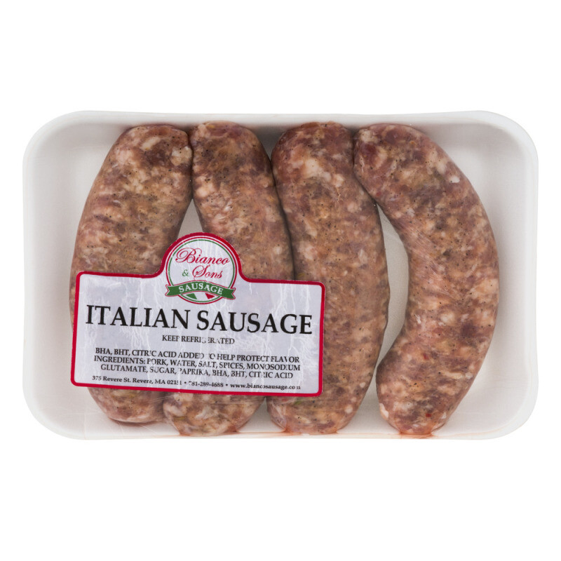 * Bianco Sweet Italian Sausage Links