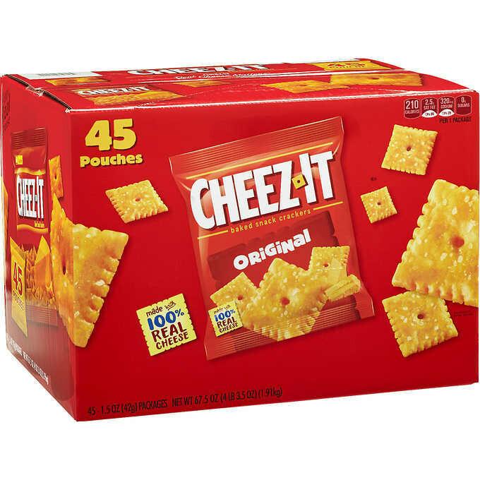 * Cheez-It Original Club Pack 45-1.5 Ounces