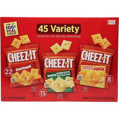 * Cheez-It Variety Pack 45 Count