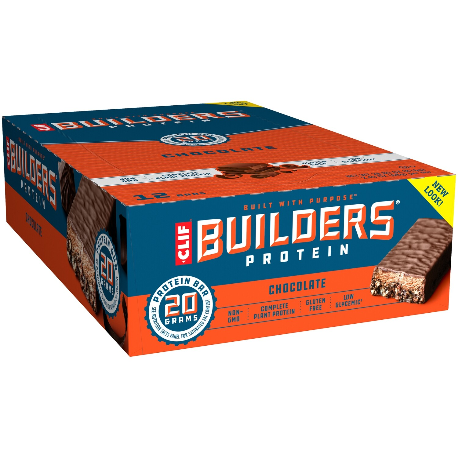 * Clif Bar Builder's Protein Chocolate 12 Count