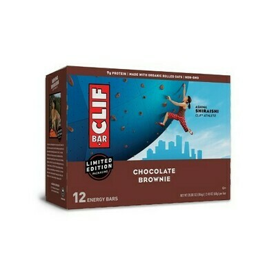 * Clif Bar Chocolate Brownie 12 Count