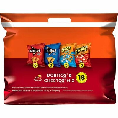 * Doritos & Cheetos Mix Variety Pack 1.75 Ounces
