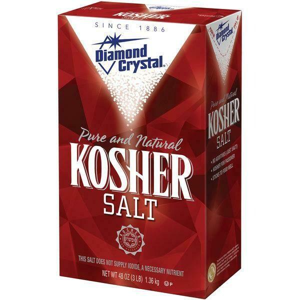 * Diamond Crystal Kosher Salt 3 Pounds