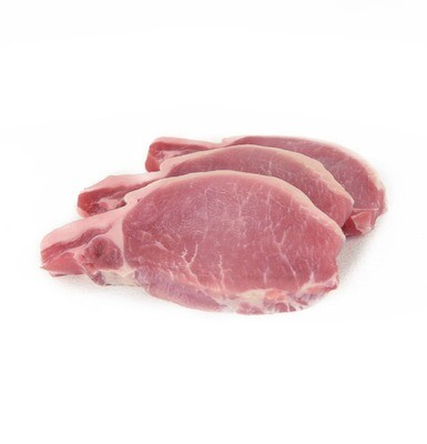 * Frozen Pork Chops Center Cut Per Pound