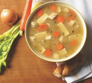 * Frozen Blount Chicken Noodle Soup 2-4 Pounds