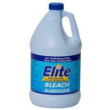 * Elite Professional Bleach EPA Registered 5.25% 1 Gallon