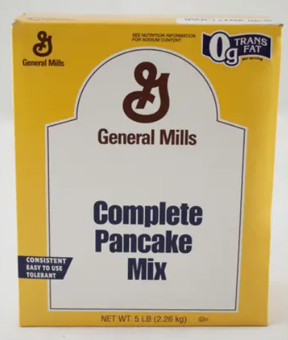 * General Mills Complete Pancake Mix 5 Pounds