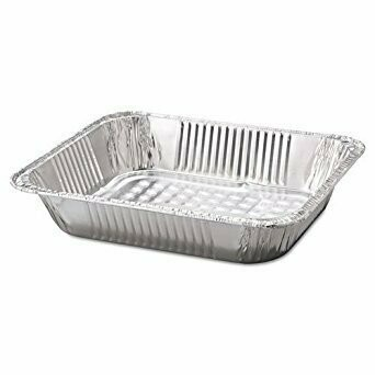 * HFA Deep Half Size Steam Table Pan 10 Count Pack