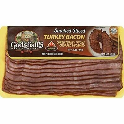 * Godshall's Turkey Bacon 12 Ounces