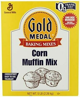 * Gold Medal Corn Muffin Mix 5 Pounds