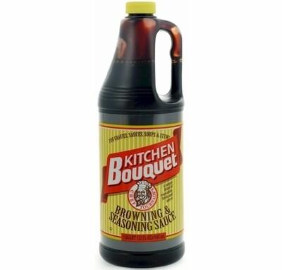 * Kitchen Bouquet Browning & Seasoning Sauce 32 Ounces Plastic Bottle