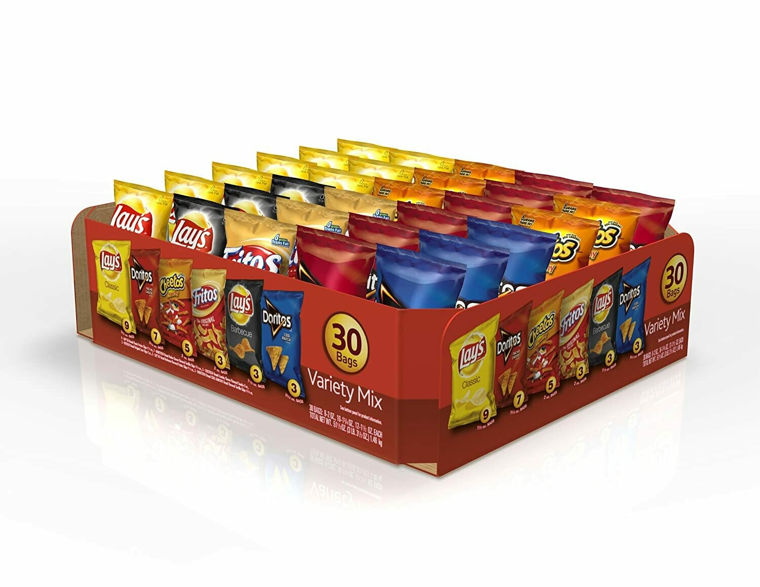 * Lays Variety Classic Pack 30-2 Ounces