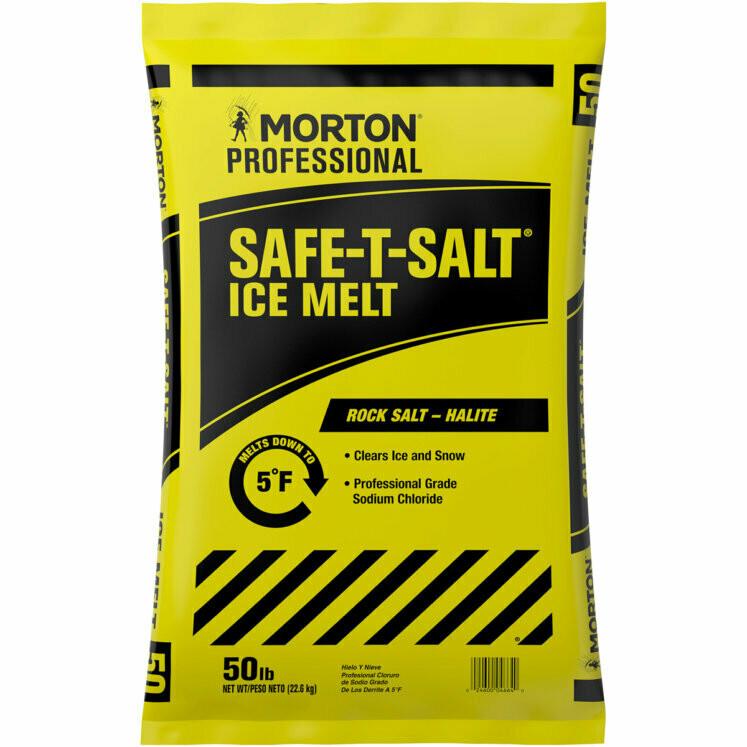 * Morton Professional Safet-Salt Ice Melt 50 Pounds