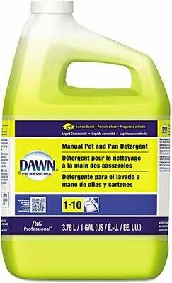* Joy Professional Manual Pot & Pan Dishwashing Liquid Gallon