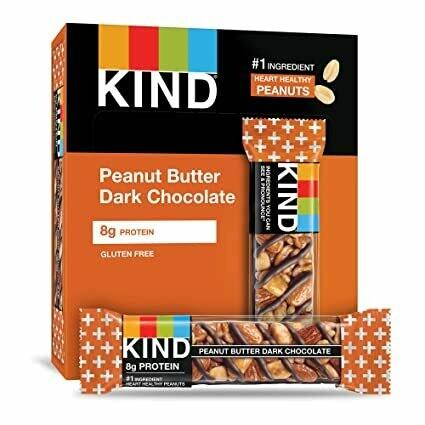 * Kind Peanut Butter Dark Chocolate Bars 12-1.4 Ounces