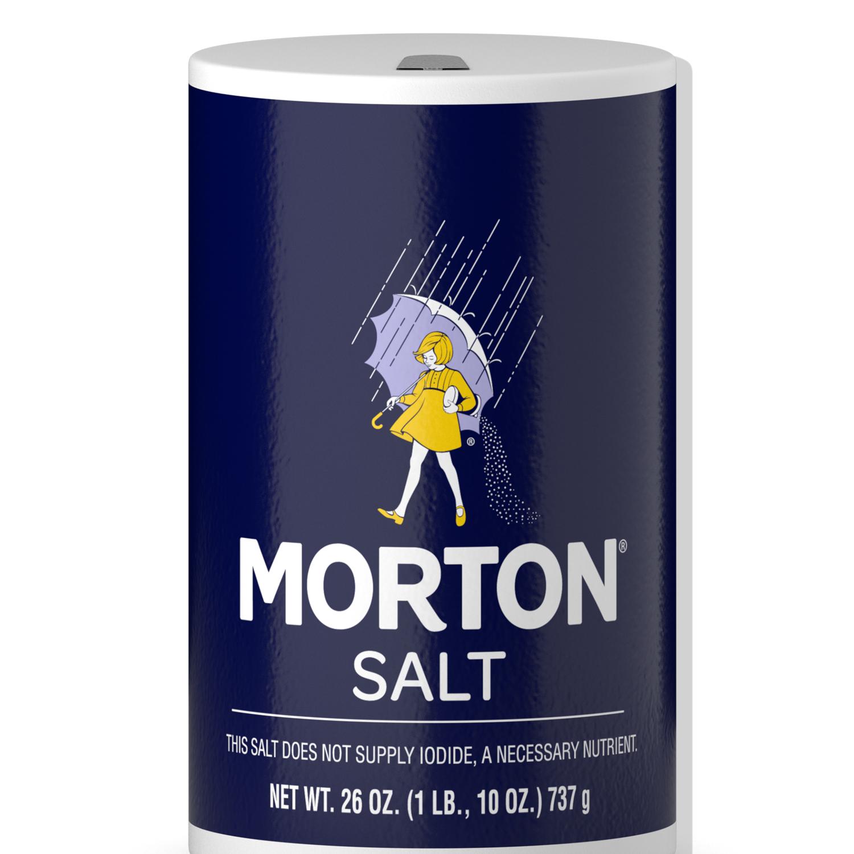 * Morton Iodized Salt 26 Ounces
