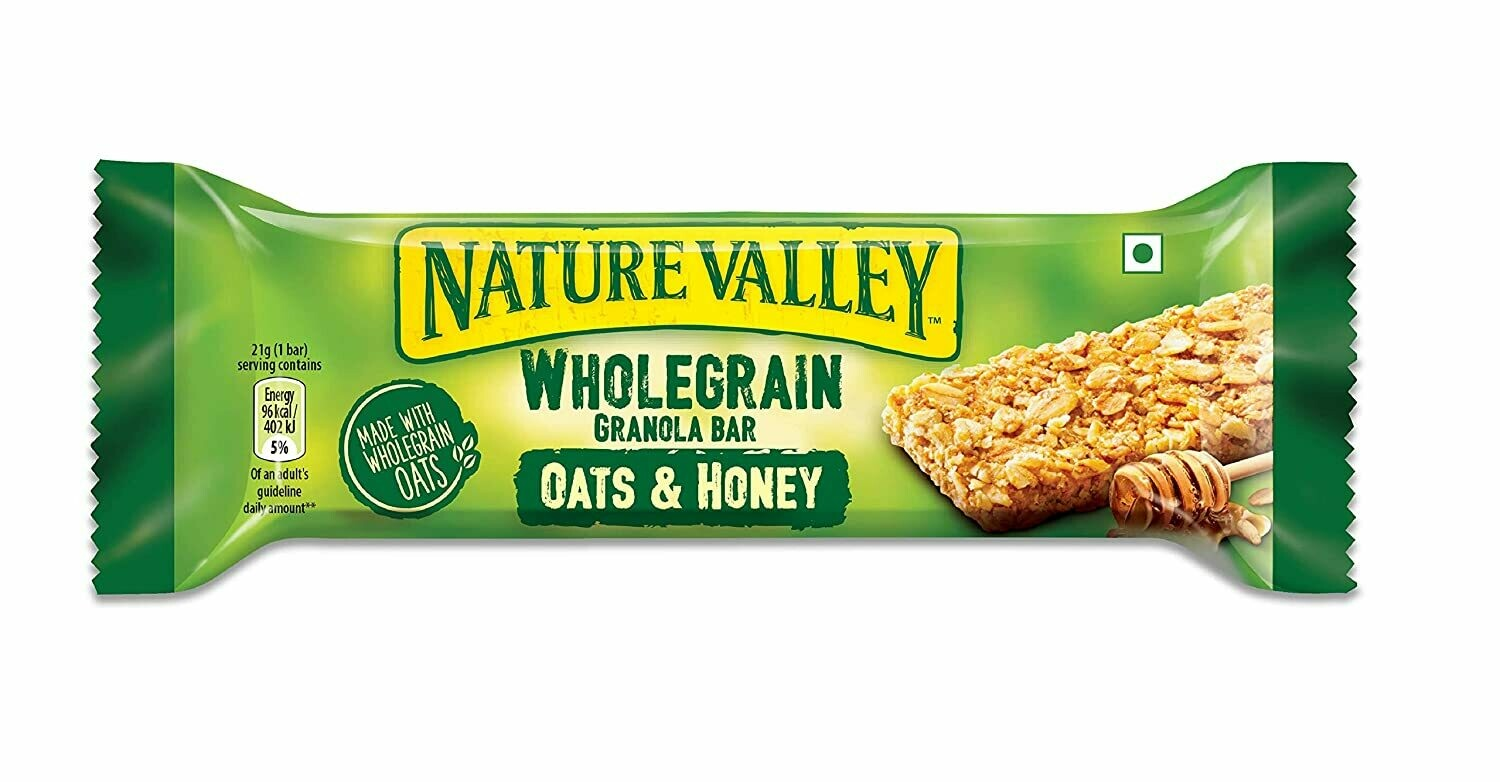 * Nature Valley Oats 'N Honey Crunchy Granola Bars 18-1.5 Ounces