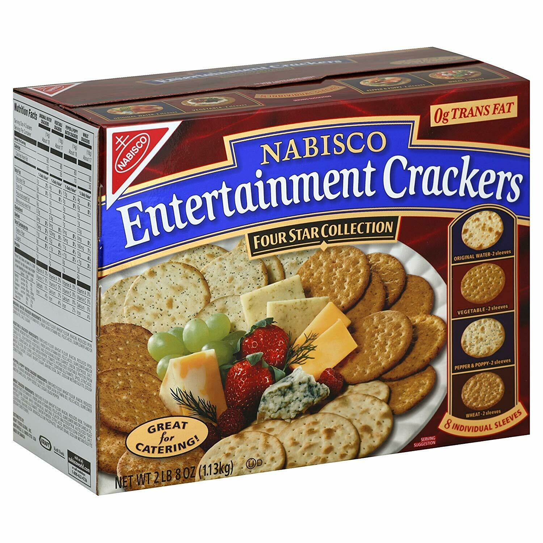 * Nabisco Entertainment Crackers 40 Ounces