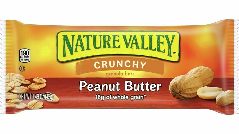 * Nature Valley Peanut Butter Granola Bar 28-1.5 Ounces