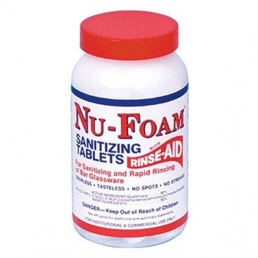 * Nu-Foam Sanitizing Tablets 100 Count