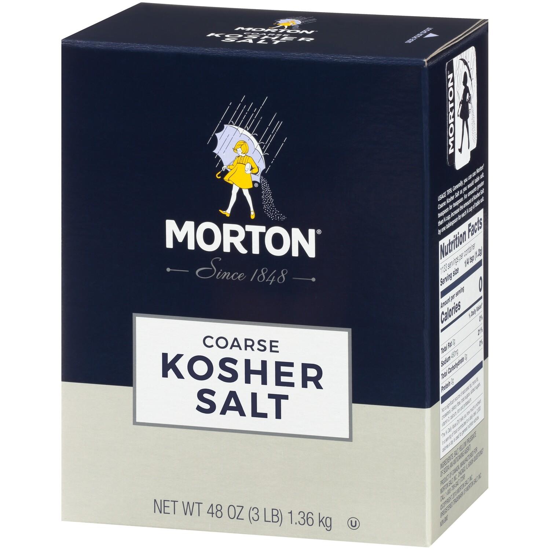 * Morton Kosher Salt 3 Pounds