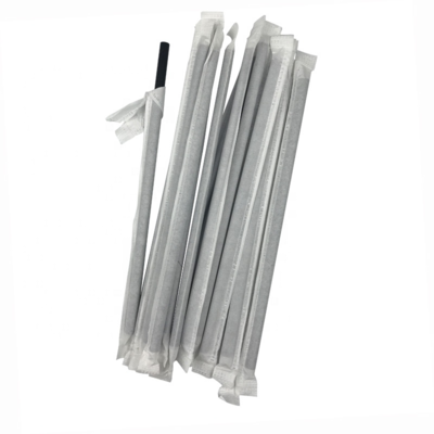 * Paper Wrapped Straws 7.75
