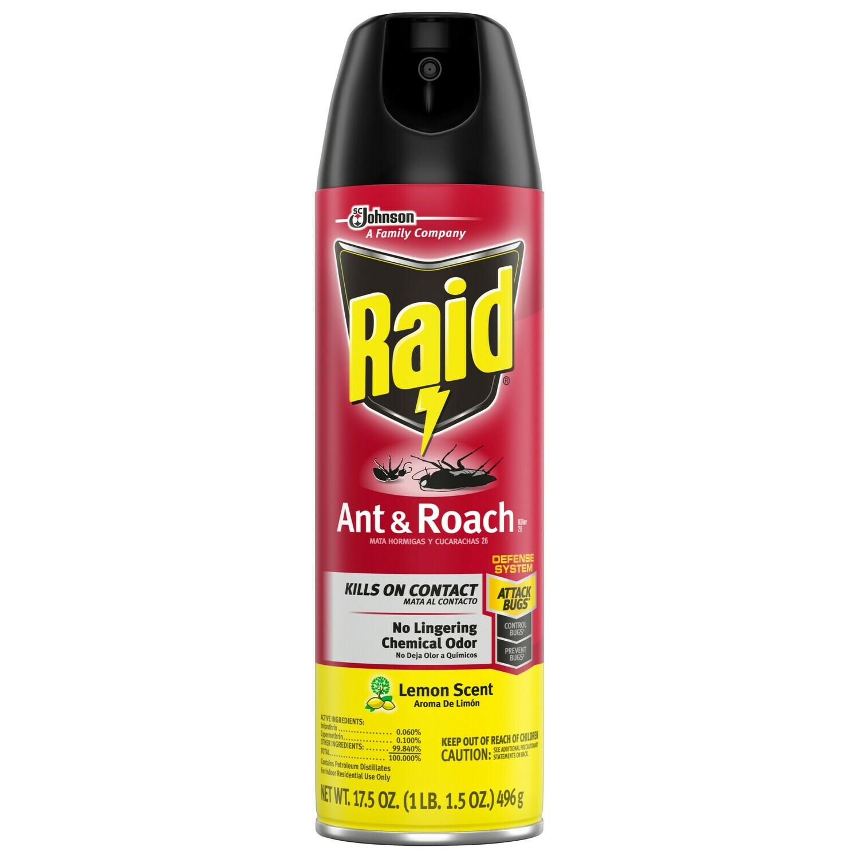* Raid Ant & Roach Killer Spray 17.5 Ounces Can