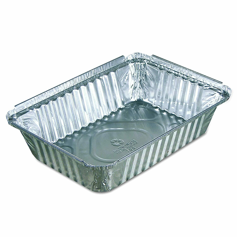 * Pactiv #6298XHPCY Aluminum Rectangle Roasting Pan