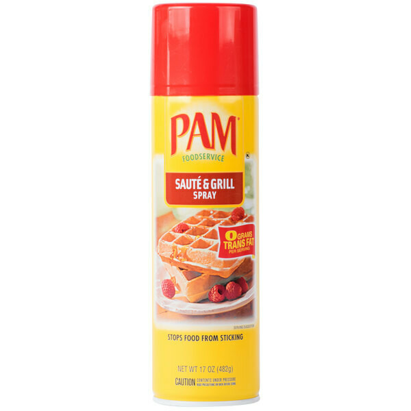 * Pam Saute & Grill Cooking Spray 17 Ounces Can