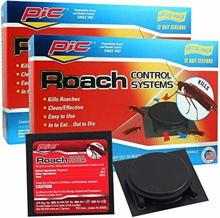 * PIC Roach Bait Killing System 24 Count