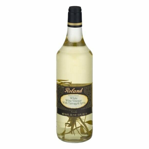 * Roland White Wine Vinegar 33.8 Ounce Bottle