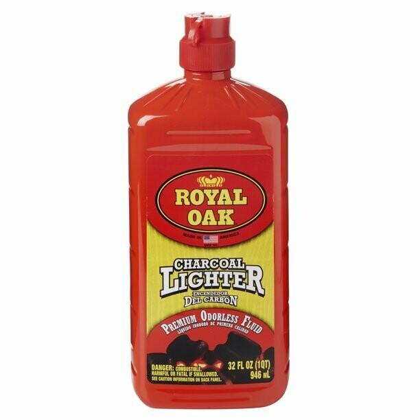* Royal Oak Charcoal Lighter Fluid 32 Ounces Bottle