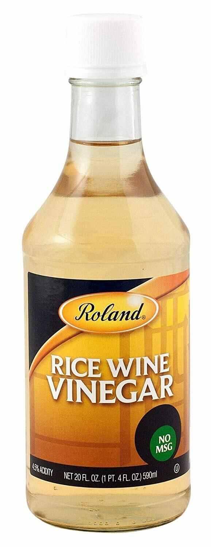 * Roland Rice Wine Vinegar 21 Ounces